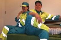 Ambulance medewerkers en E.H.B.O.
