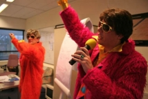 Disco a gogo - communicatie show