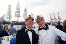 Kapitein en scheepsmaatje