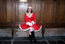 Kerstvrouw - Kerstdame