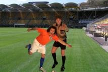 Scheidsrechter en Voetballer