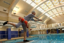Zwemmende Matroos