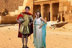 Cleopatra en Marcus 101