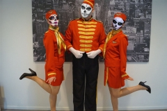 Piccolo en stewardesses - Halloween
