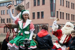 Kerstman in arrenslee (11)