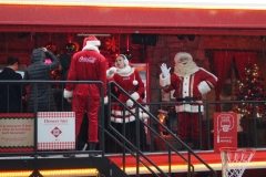 Kerstman Coca-cola Kersttruck tour