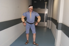 De Sterke Man van het Circus